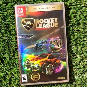 Rocket league ultimate edition holographic cover